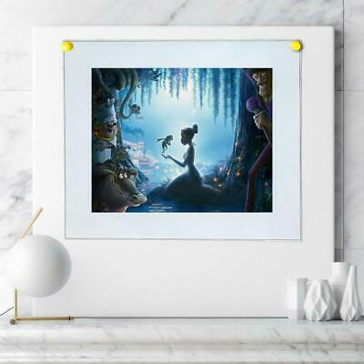 """8""""x12"""" Disney Princess Posters HD Canvas Prints Home Room Decor Wall picture"""