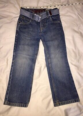 BOYS NEXT JEANS DISTRESSED With BELT AGE 5 BARELY WORN