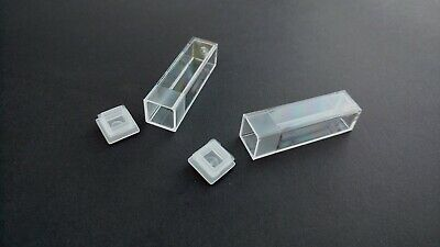 Kartell Plastic Cuvette Tube Vial Container Push In Cap / Lid 4.5ml Craft Beads