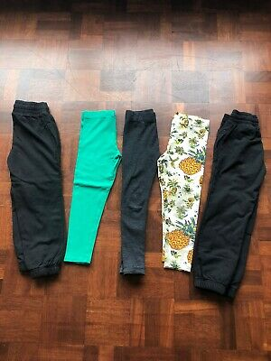 Girls Leggings & Joggers Bundle Age 5-6 Next Etc.