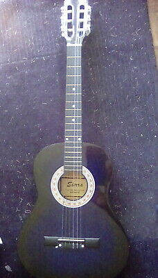 Acoustic guitar, by Sierra, with case. good condition