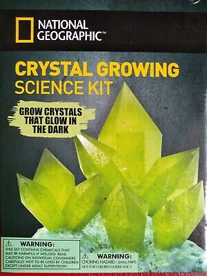 Crystal Growing Garden 2 Trees Watercolor Pens National Geographic Science Kit