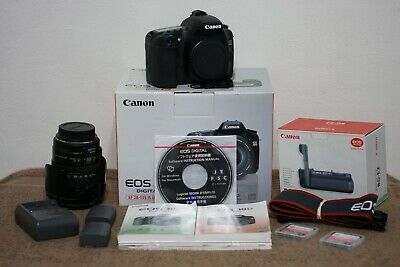 Canon 30D Camera Lens Kit With Vertical Grip