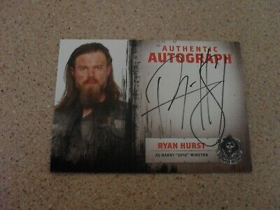 "Sons of anarchy seasons 1-3 ""OPIE"" Authentic Autograph trading card"