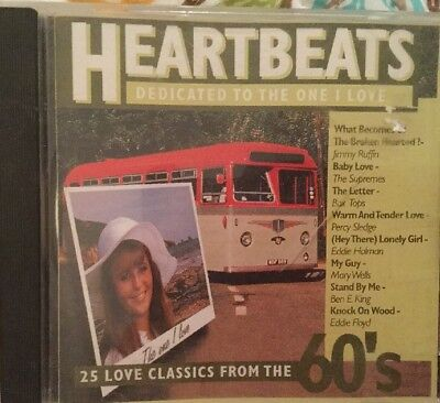 Various Artists - Heartbeats: Dedicated To The One I Love 60's Hits Free Postage