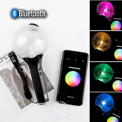 KPOP BTS Bluetooth Light Stick Ver.3 Bangtan ARMY Bomb Concert Lamp Lightstick