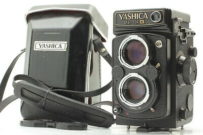 【N. MINT Meter Works!】 YASHICA MAT 124G 6X6 TLR Medium Format Camera From Japan