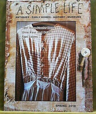 A Simple Life Magazine Spring 2018 Black Dolls Mint Brownies Tape Looms Wreaths