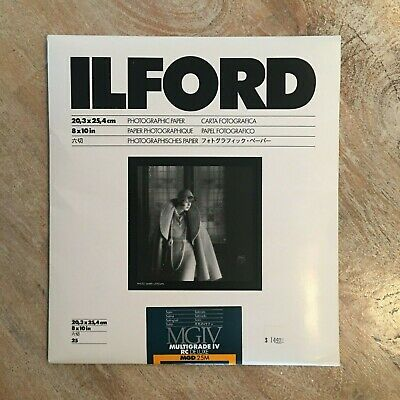 Ilford 8x10 MGD .25M RC Deluxe Satin Paper (sealed)