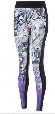 SWEATY BETTY Graffiti Print Tights M