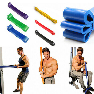 Latex Heavy Duty Resistance Bands Loop Exercise Tube Sport Fitness Home Yoga Gym