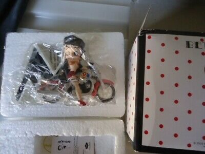 Betty Boop Letter M for Motorbike Betty Figurine Ornament Gift - Westland