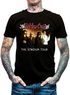 New Motley Crue Stadium Tour Music Casual Wear T-Shirt S,M,L,XL,2XL,3XL