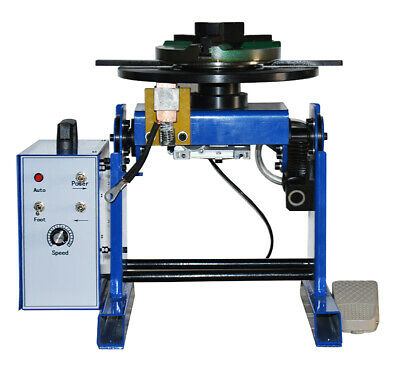 50KG Rotary Welding Positioner 0-90° Turntable Table 110V Positioning Machine