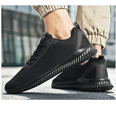 2PCS Mens Outdoor Sneakers Shoes Sports Lace up Non-slip Walking Running Flat US