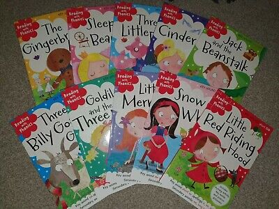 Reading with phonics book bundle