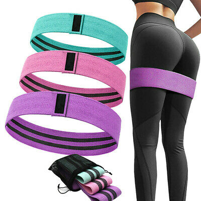 Hip Circle Fabric Resistance Bands Heavy Duty Booty Bands Glute Non-slip Fitness