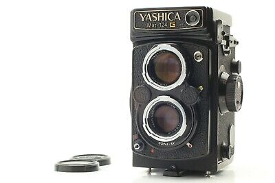 [ Exc+++ ]  YASHICA MAT 124 G 6x6 TLR Medium Format Camera from Japan A114
