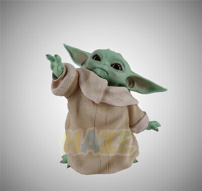 """Star Wars The Force Awakens Baby Yoda 4"""" PVC Action Figure Model Toy Collection"""