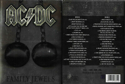 Rare / Ac/Dc : Ac / Dc Video En Concert Live / ( 2 Dvd ) Bon Scott Brian Johnson