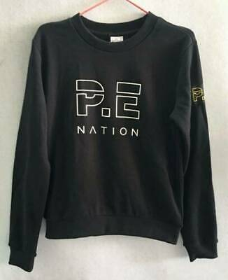 NWT Pe Nation Womens Heads Up Sweat Crew Pullover Sweatshirt Jumper Tops SZ S/10