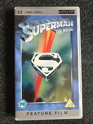 Superman the Movie UMD PSP Rare UK Release Region ALL FREE SHIPPING WORLDWIDE!
