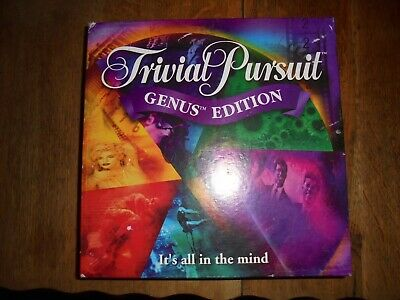 Trivial Pursuit Genus Edition Board Game Great Family Party Game