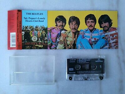 The Beatles - Sgt Pepper's Lonely Hearts Club Band - Cassette