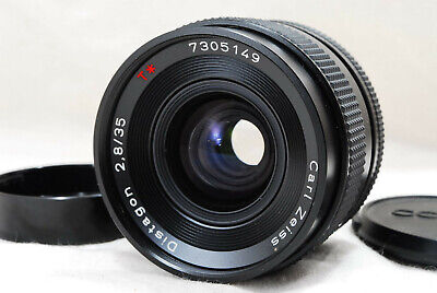 CONTAX Carl Zeiss Distagon T 35mm F2.8 MMJ Contax Yashca Mount from Japan