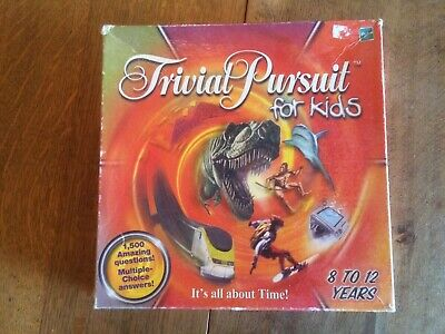 Trivial Pursuit For Kids Edition Family Board Game Complete