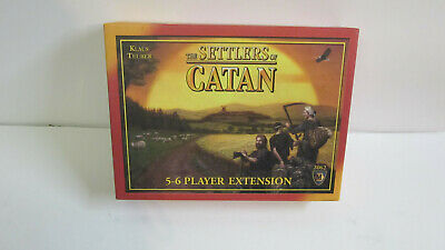 The Settlers Of Catan Board Game #3061 Mayfair Games 2007 oil springs expansion