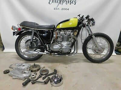 Cafe 1972  Triumph T150 T150V 750 Trident    1614  FREE SHIPPING TO ENGLAND  UK