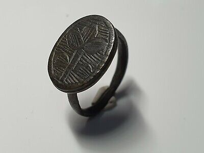 Medieval Crusaders Ring with Insignia