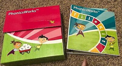 K12 Phonics Works Complete Kit (PH1230) Kinder, 1st, 2nd Grade Reading System