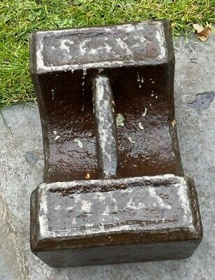 Vintage Antique Cast Iron 56Lb Weight
