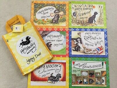 Hairy Maclary & Friends Set Of 6 Books By Lynley Dodd