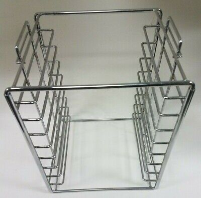Dental Instrument Tray Rack Set up Tray (Holds 9) Chrome