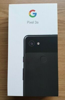 Google Pixel 3a Just Black, 64GB, Unlocked, Brand New!