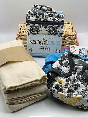 Cloth Diaper Lot Rumparooz 6 Months Plus With Extras
