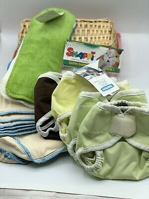 Thirsties Infant Size Cloth Diaper Lot NEW Great Add Ons