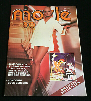 Movie 80 Mag - Persis Khambatta Star Trek David Essex Disney Bambi Rolf Harris