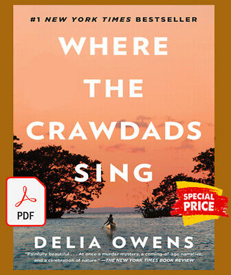 Where the Crawdads Sing by Delia Owens Fast Delivery⚡(P.D.F)