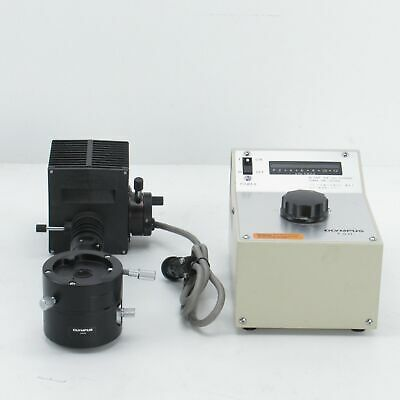 Olympus Bh2-Kma Vertical Illuminator W/ 12V 50W Light Source And Tgh Transformer