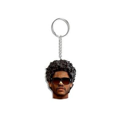 The Weeknd AFTER HOURS 3D SCULPTED KEYCHAIN Blinding Lights Vinyl