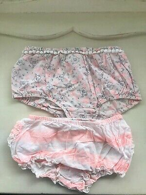 Country Road Two Pairs Girls Bloomers Size 2 18-24 Months GUC