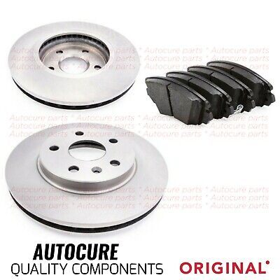 Vauxhall Insignia 2.0 CDTi 128bhp Front Brake Pads Discs 296mm Vented