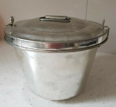 Vintage Stainless 2 ltr Aspic Jelly Mold