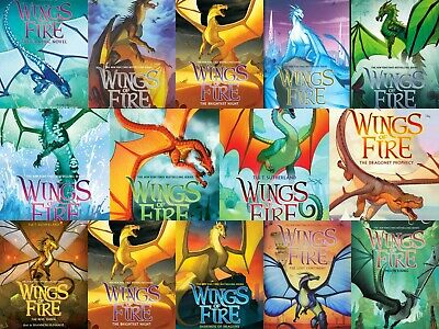Wings of fire Series Books 1-13 By Tui T. Sutherland (PDF, Mobi,epub) ~ Instant