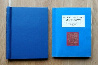 Album With British Commonwealth 1946 Victory Stamp & Cover Collection