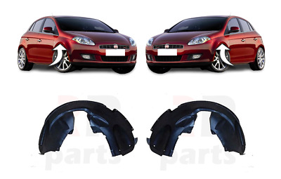 FOR FORD FIESTA 08-13 FRONT FENDER MUD GUARD SPLASH ARC PAIR SET L/&R
